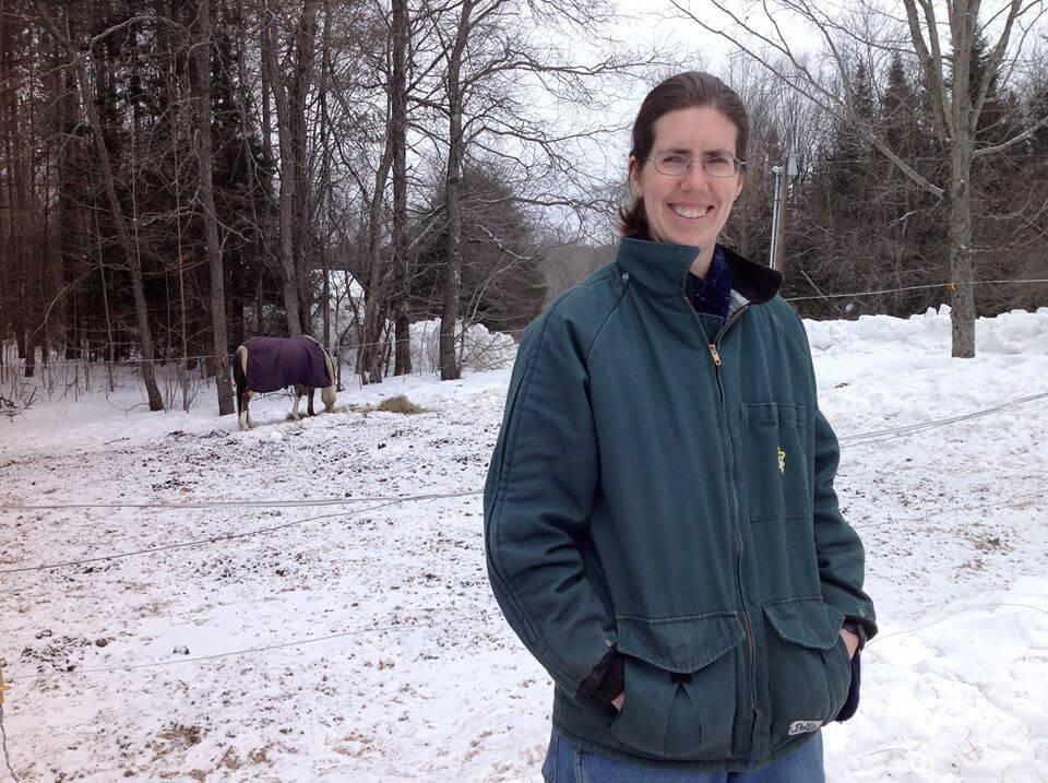 Dianne Johnson, large animal verterinarian